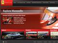 Il sito della Ferrari, tanti contenuti per gli appassionati