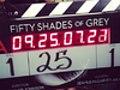 50 sfumature di grigio: il primo ciak e la foto ufficiale