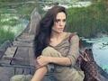 Borse Louis Vuitton: Angelina Jolie posa con la Alto Monogram
