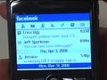 Facebook per BlackBerry arriva alla versione 1.5