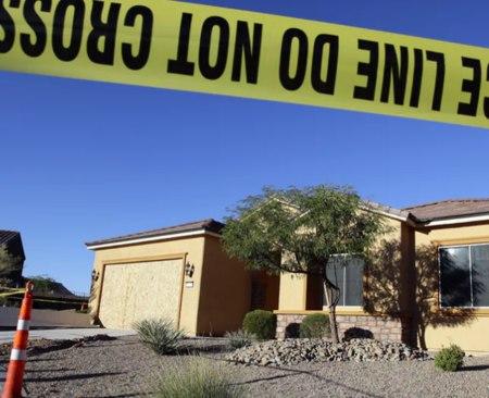La stanza del killer a Las Vegas: le foto di Paddock e delle armi