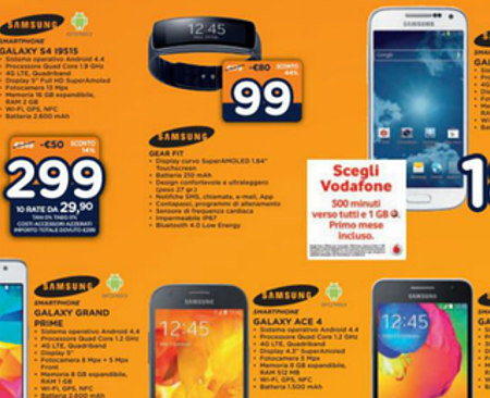 Nuovo volantino Unieuro, offerte su smartphone, smartwatch e tablet
