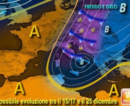 Previsioni meteo Natale, Capodanno ed Epifania 2015-2016