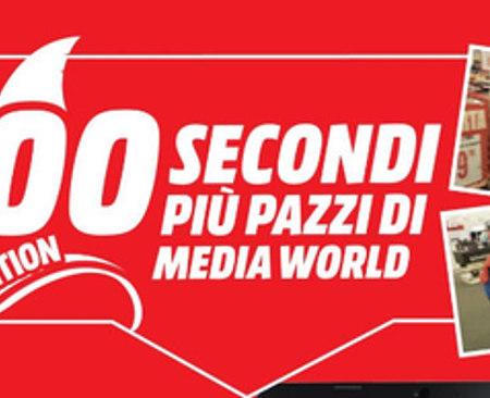 Mediaworld, vinci 100 secondi per svaligiare il negozio