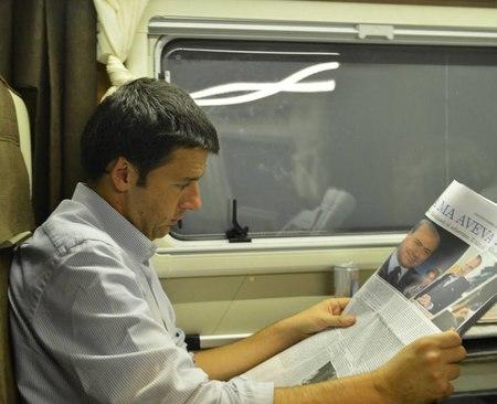 Elezioni 2018: Renzi parte in treno per trovare il voto umile