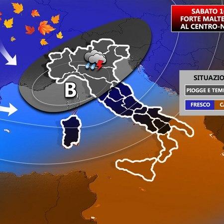 Meteo Italia: tregua di sole ma da giovedì nuovo maltempo