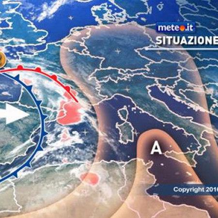 Maltempo: rovesci e calo delle temperature, allerta in Liguria